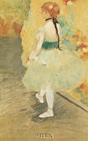 Dancer in Green Fine-Art Print