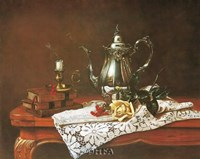 Still Life with Yellow Rose Fine-Art Print