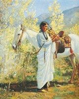 The Flute Player Fine-Art Print
