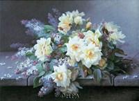Roses & Lilacs Fine-Art Print