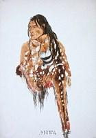 Ihkas-Kinne, Siksika Blackfeet Chief Fine-Art Print