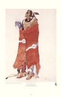 Mahchsi-Karehde, Mandan Man Fine-Art Print