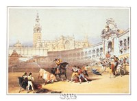 Bullfight, Seville Fine-Art Print