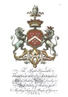 Coat of Arms-Frederick Augustus Berkeley Fine-Art Print