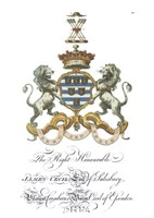 Coat of Arms - James Cecil of Salisbury Fine-Art Print