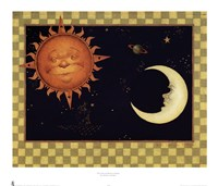 The Sun & Moon & Stars Fine-Art Print