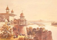 Palace and Fort at Agra Fine-Art Print