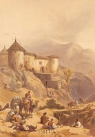 Hill Fort of Ghulab Sinj Fine-Art Print