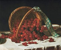 Basket of Cherries Fine-Art Print