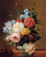 Still Life of Flowers on a Ledge Fine-Art Print
