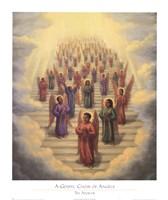 Gospel Choir of Angels Fine-Art Print