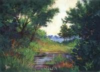The Marsh at Fort Morgan Fine-Art Print