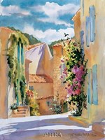 Coastal Village, France Fine-Art Print