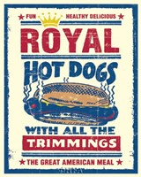 Royal Hot Dogs Fine-Art Print
