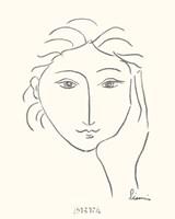 Woman's Face Sketch II Fine-Art Print