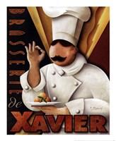 Brasserie de  Xavier Fine-Art Print
