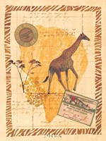 Travel Giraffe Fine-Art Print
