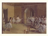 Dance Foyer at the Opera Fine-Art Print
