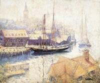 Gloucester Harbor, 1913 Fine-Art Print