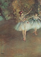 Two Dancers Fine-Art Print