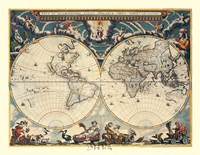 World Map Fine-Art Print