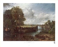 View on the Stour near Dedham Fine-Art Print