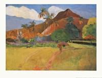 Tahitian Landscape, 1891 Fine-Art Print