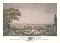 La Ville et la Rade de Toulon Fine-Art Print