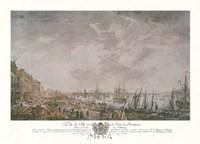 Vue de la Ville et du Port de Bordeaux Fine-Art Print
