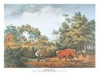 American Farm Scenes Fine-Art Print
