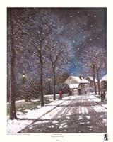 Village in Winter Fine-Art Print