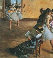 Ballet Class Fine-Art Print