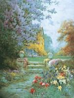 Lilacs & Iris Fine-Art Print