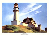 Lighthouse at Two Lights Fine-Art Print