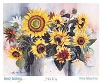 Country Sunflowers Fine-Art Print