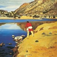 Along the Rio Grande Fine-Art Print