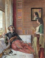 Hareem Life, Constantinople Fine-Art Print