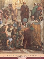 The School of Athens (Detail, Right) Fine-Art Print