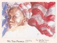 We the People (Woman) Fine-Art Print