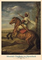 Moorish Chieftain on Horseback Fine-Art Print