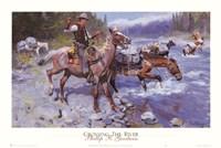 Crossing the River Fine-Art Print