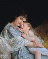 Maternal Affection Fine-Art Print