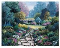 Garden Pathway Fine-Art Print
