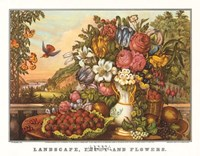 Landscape, Fruit and Flowers Fine-Art Print