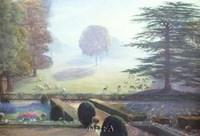 The Garden at Escrick Hall Fine-Art Print
