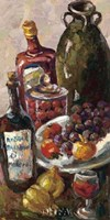 Pears and Wine Fine-Art Print