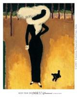 Parisienne (La Dame au Chien) Fine-Art Print