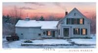 Farmhouse Sunset Fine-Art Print