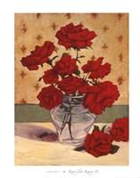 Rue Cler Roses II Fine-Art Print