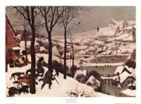 Winter/Hunters in the Snow Fine-Art Print